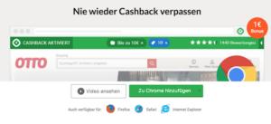 iGraal Cashback-Melder