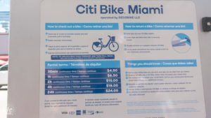 Citi Bike Miami Fahrrad Miete