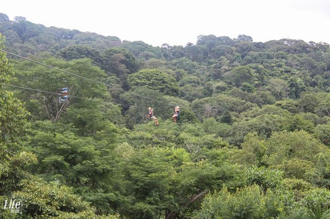 Costa Ricas längste Zipline
