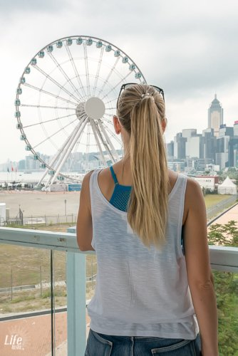 Das Hong Kong Observation Wheel ist ebenfalls unter den Hong Kong Highlights