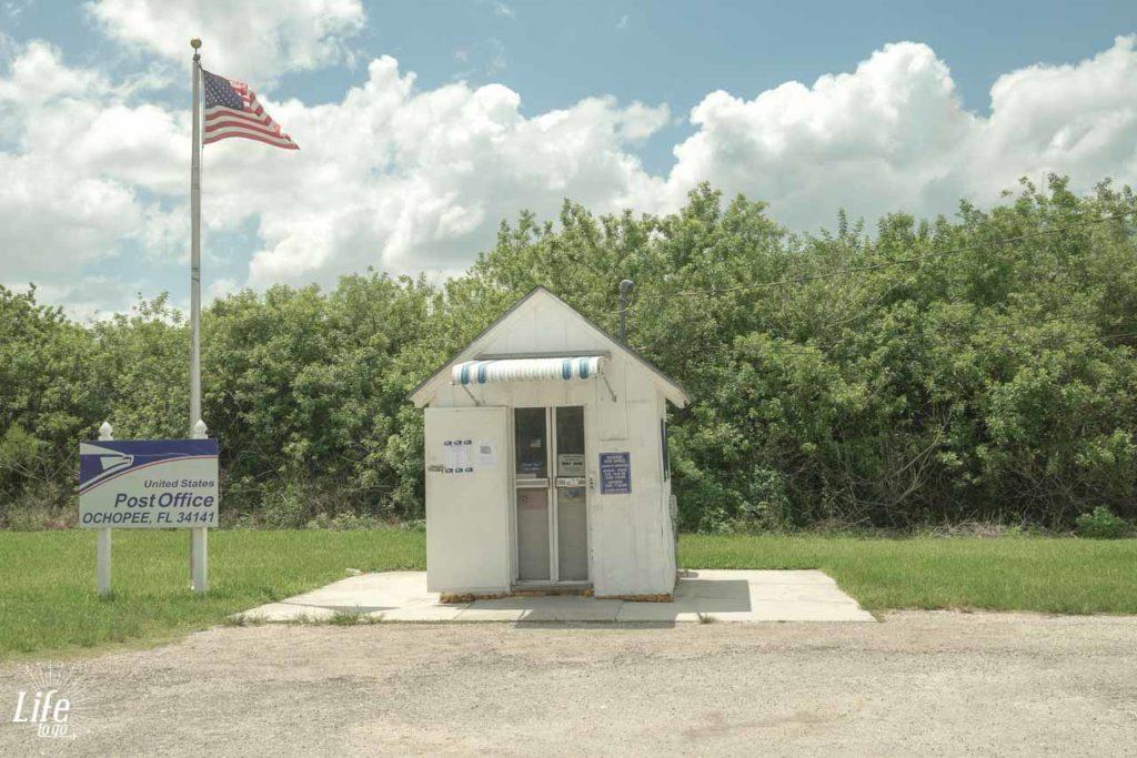 kleinstes Postamt der Welt in den Everglades