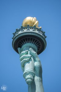 Fackel der Freiheitsstatue in New York
