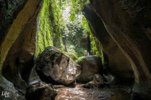 Tukad Cepung Wasserfall Eingang