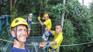 El Santuario Ziplining Manuel Antonio Costa Rica