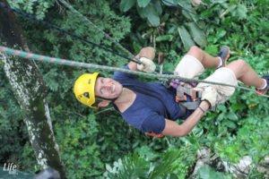 Freier Fall El Santuario Ziplining