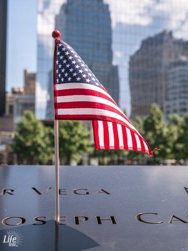 9/11 Memorial Fahne