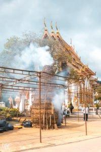Wat Chalong Feuerwerk Phuket