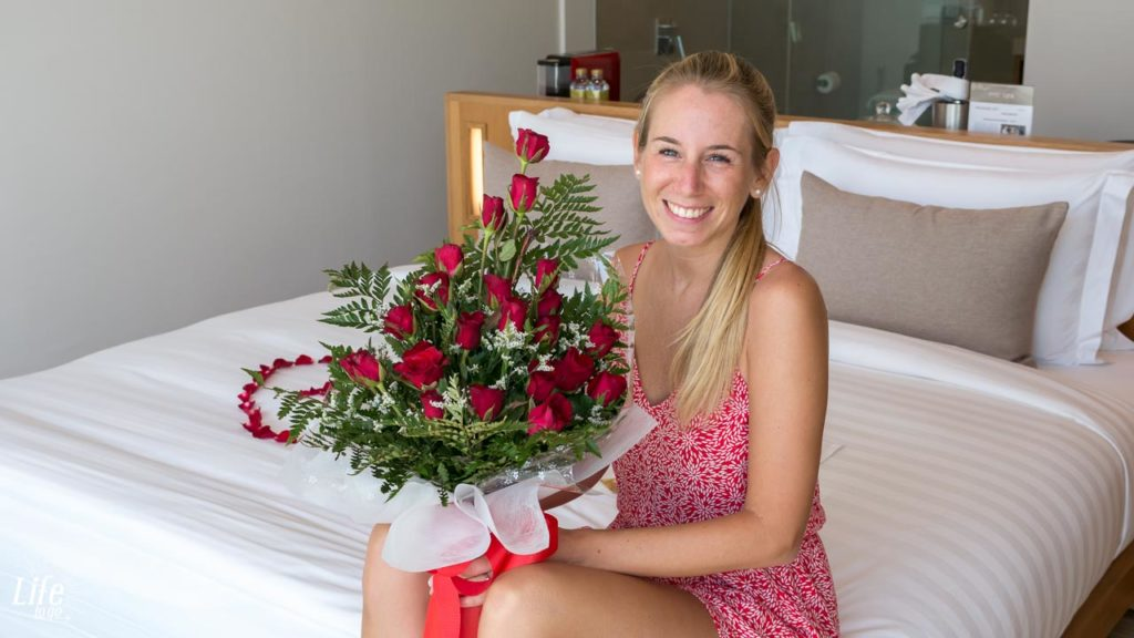 Rosen Geburtstag Thailand