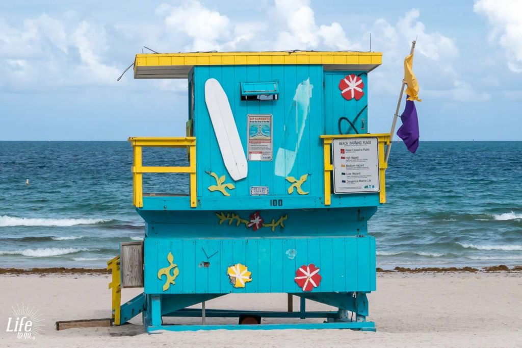Miami Beach Rettungsschwimmer-Turm