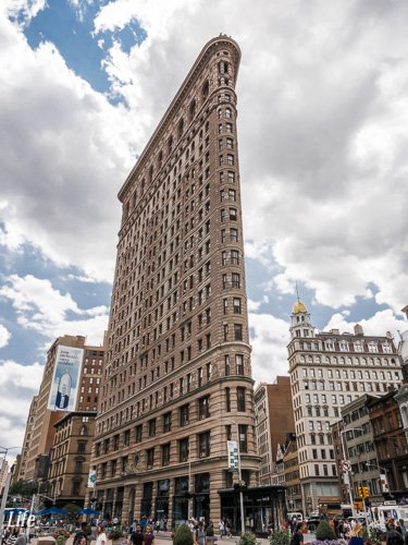 das Flat Iron Building