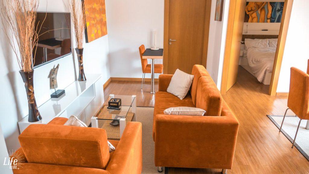 Phuket Airbnb Wohnzimmer