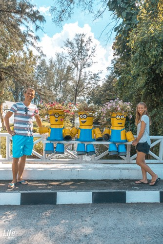Die Minions auf Phuket in Thailand