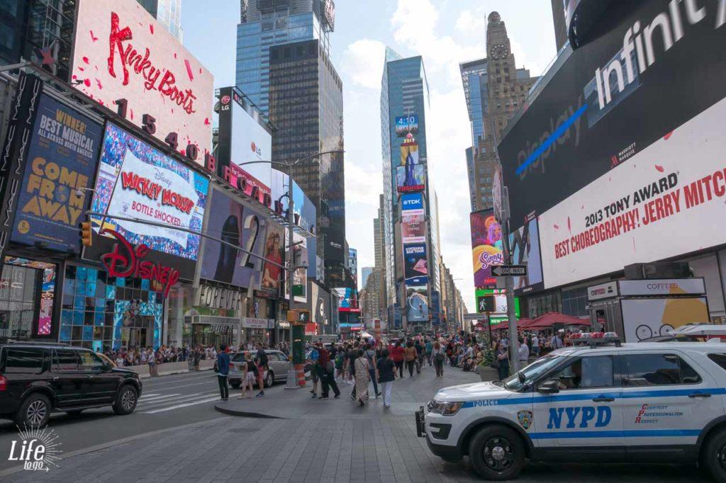 Polizei Times Square