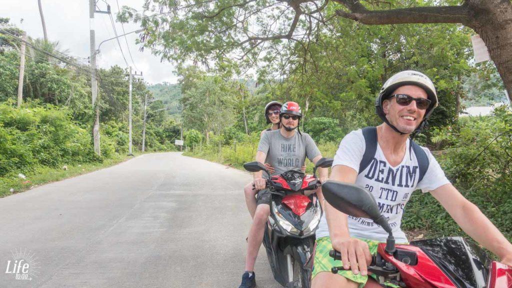 Rollertour Ringstraße Koh Samui