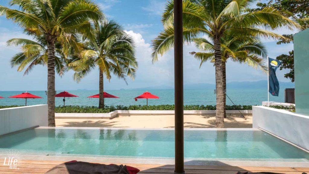 Sensimar Samui Beach Pool Villa Ausblick