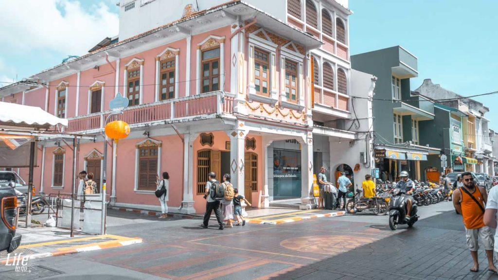Phuket Old Town Soi Romanee