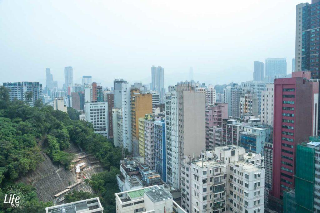 The CityView Hotel Aussicht aus dem Zimmer