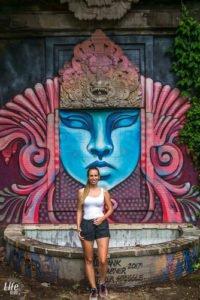 Verlassener Freizeitpark Taman Festival Bali