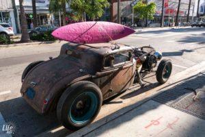 Verrücktes Auto in Miami