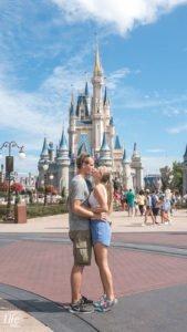 Vor dem Schloss im Walt Disney World Orlando