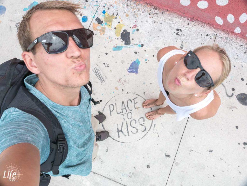 Platz zum küssen