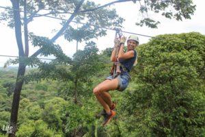 Ziplining Abenteue in Manuel Antonio Costa Rica