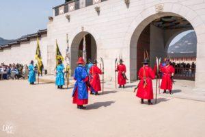 Gyeongbokgung Palace Wachwechsel