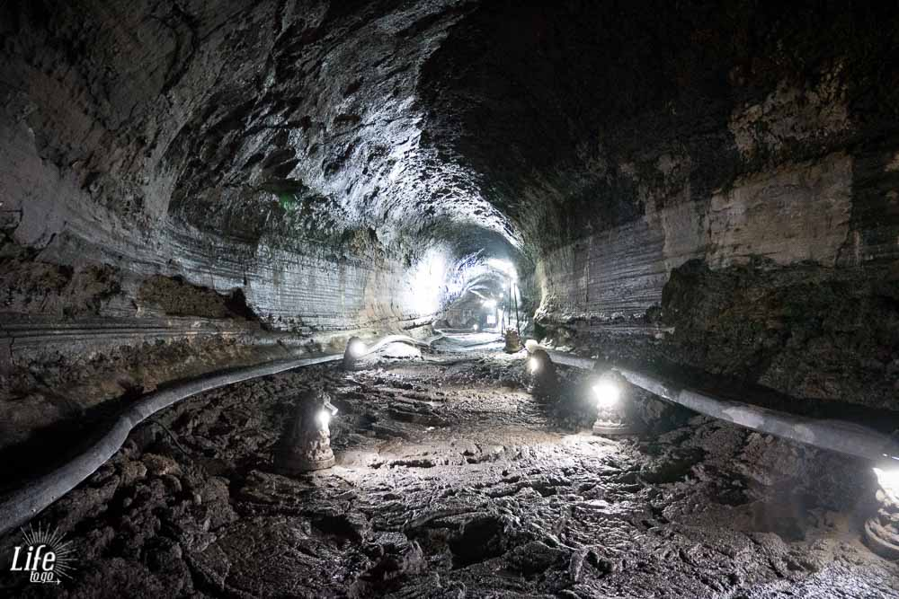 Manjanggul Cave Lavahöhle