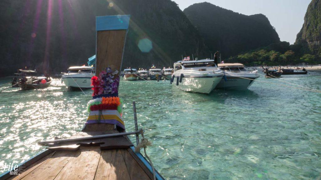 Maya Bay Tour Ankunft Koh Phi Phi Leh