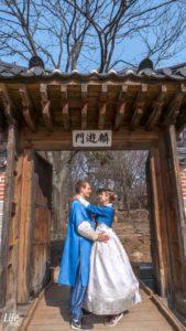 Gyeongbokgung Palace Hanbok Seoul