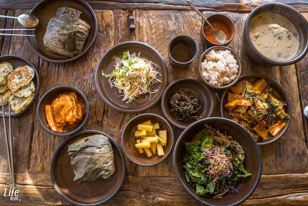 Traditionelles Koreanisches Essen