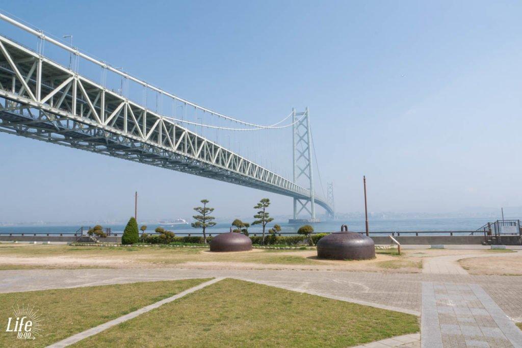 Akashi Kaikyo Brücke Aussicht