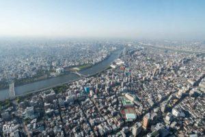 Aussicht Tokyo Skytree