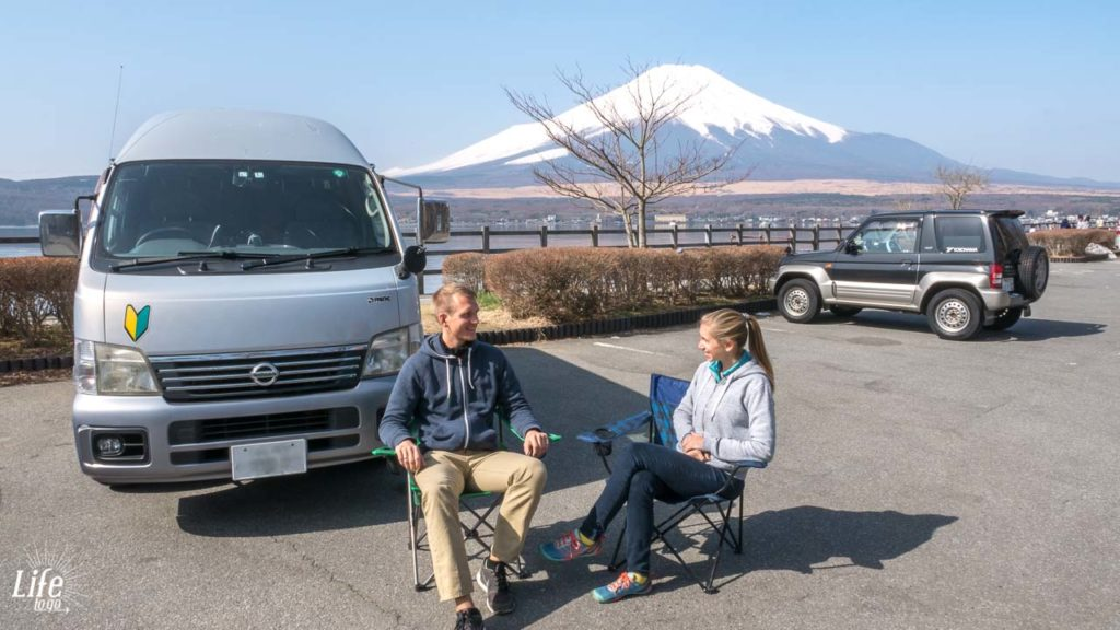 Camping Japan mit dem Campervan