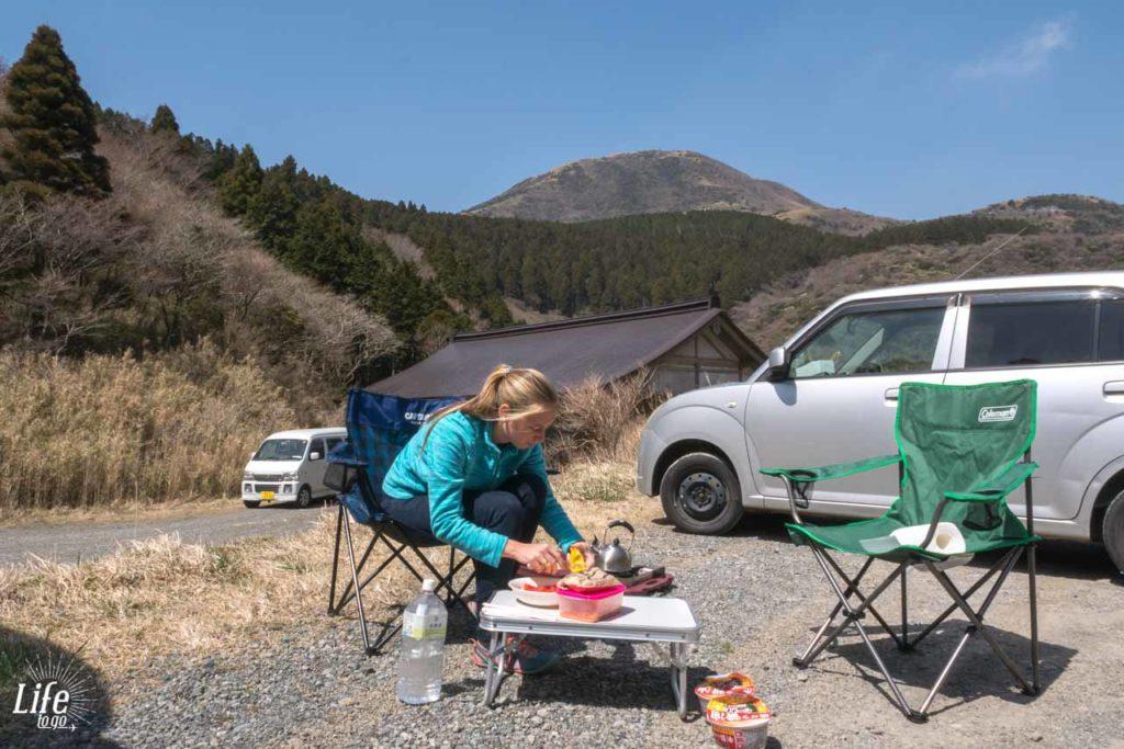 kochen Camping Japan