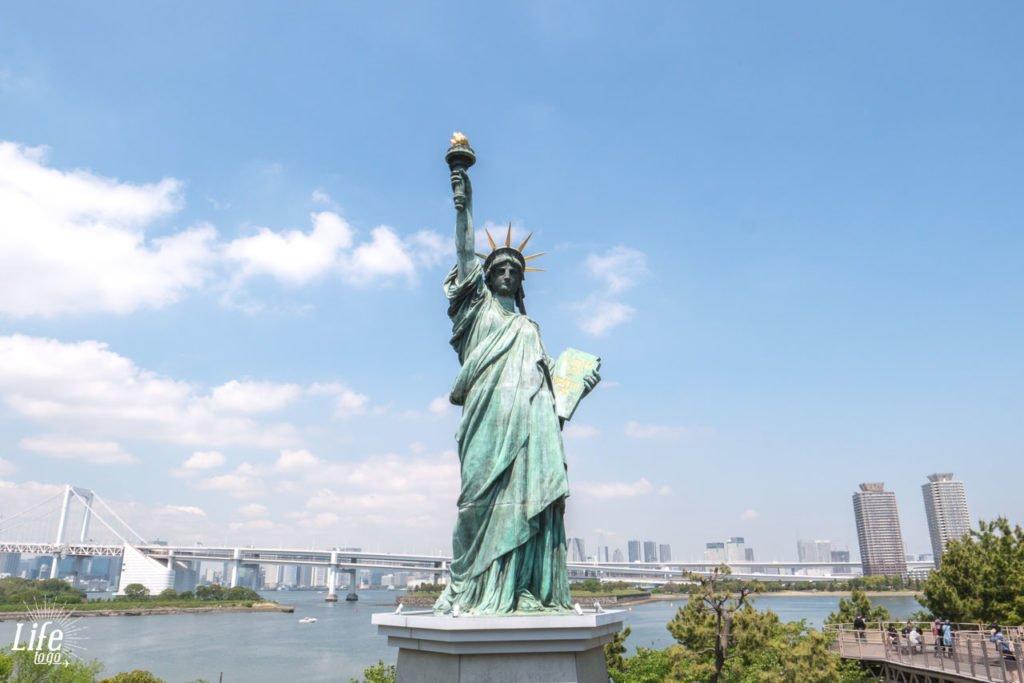 Freiheitsstatue Tokio Japan