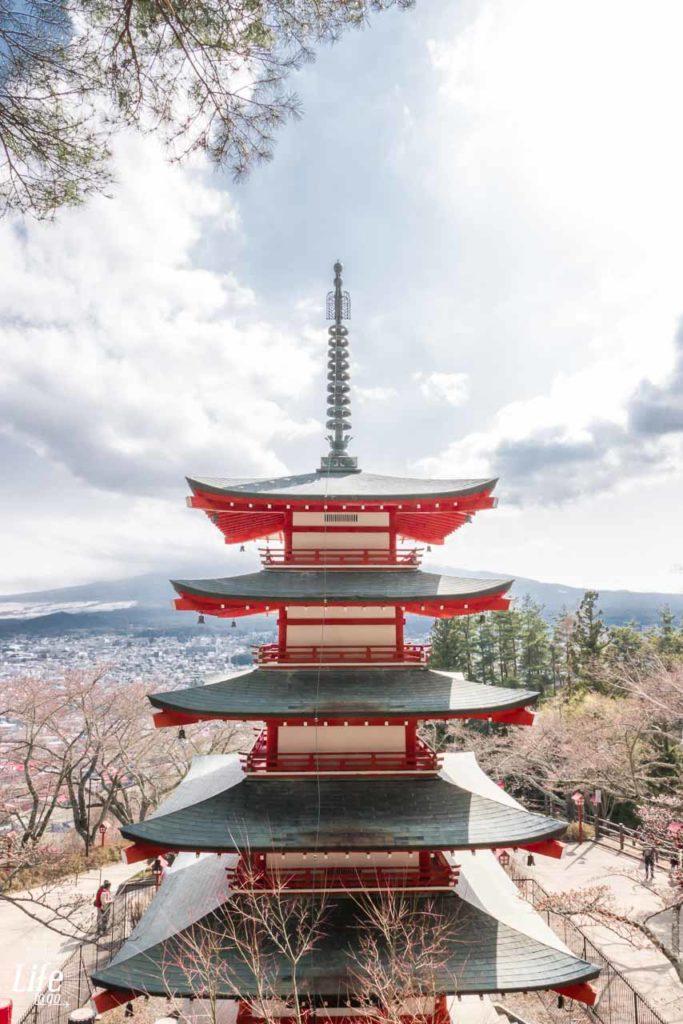 Fuji Sengen Jinja Schrein