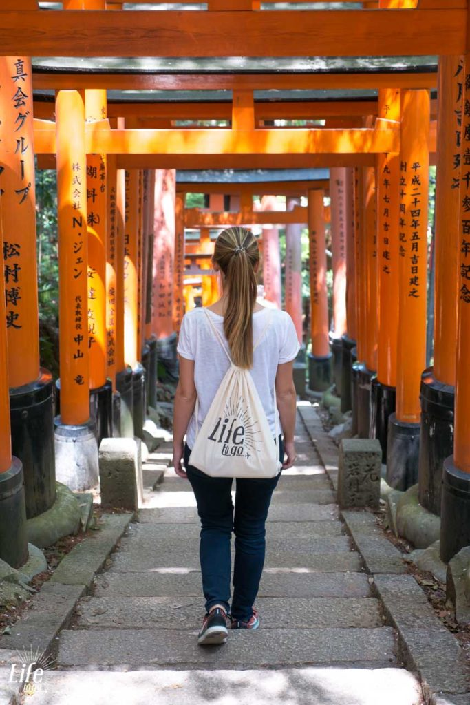 Fushimi Inari Shrine Tore Kyoto