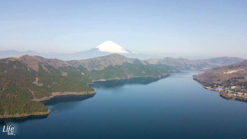 Hakone Lake Ashi Mount Fuji