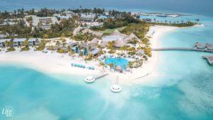 Kandima Maldives Drohnenaufnahme