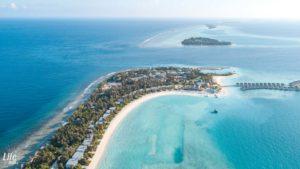 Kandima Insel Drohne
