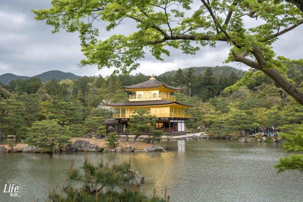 Goldener Tempel Kyoto Kinkaku-ji