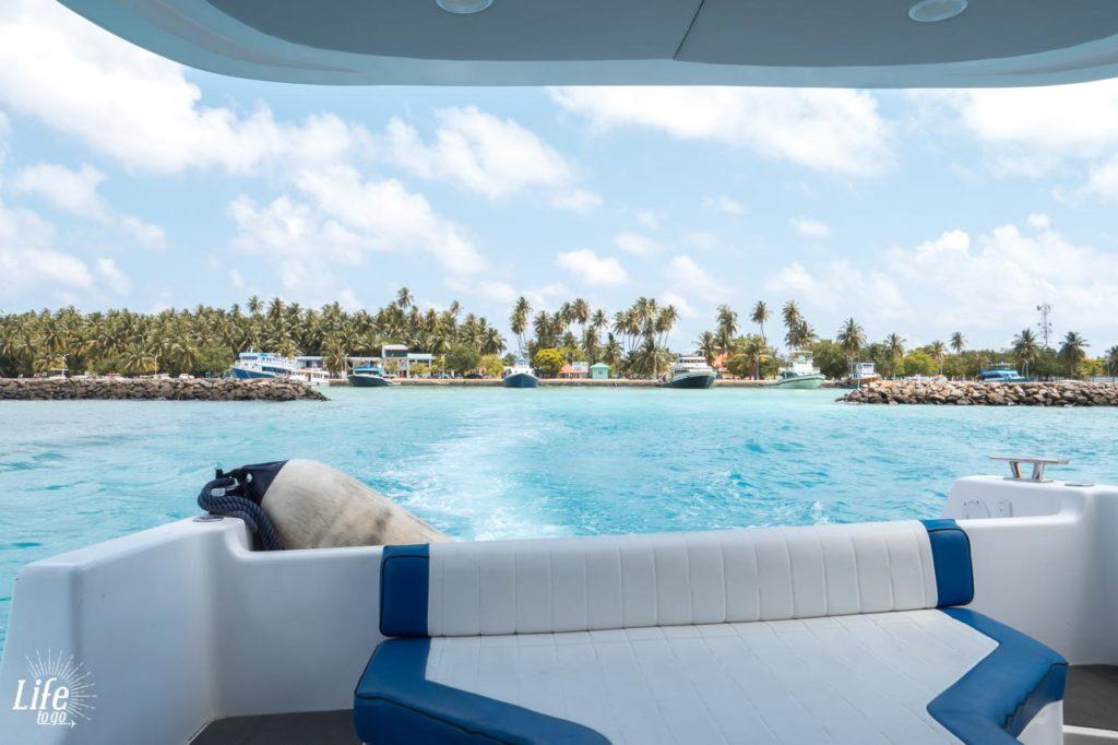 Speedboot Malediven Transfer