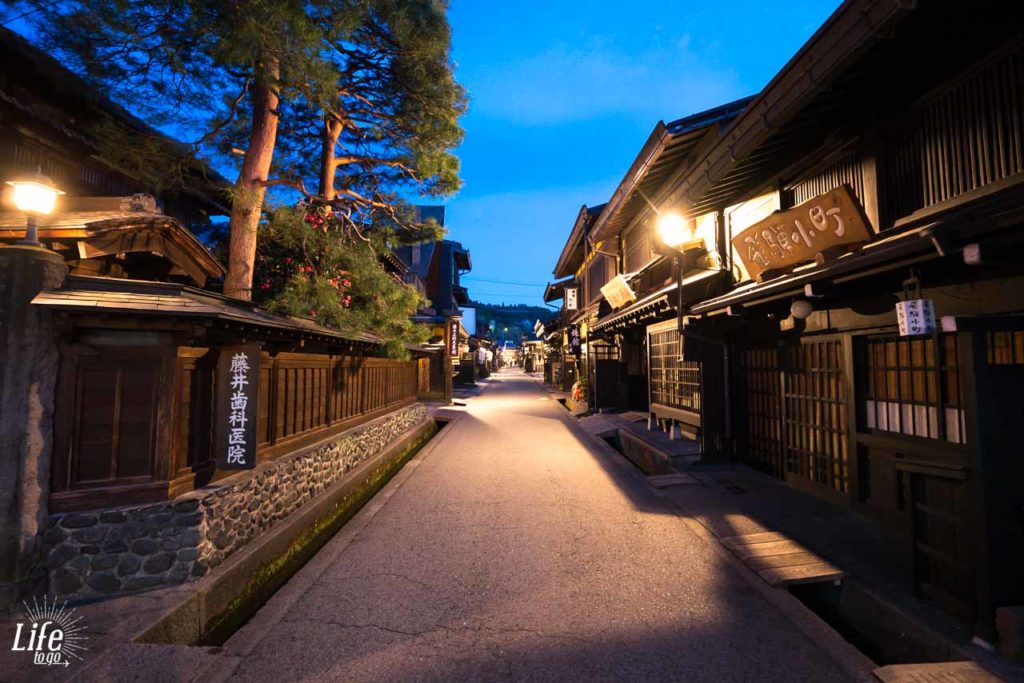 Takayama am Abend