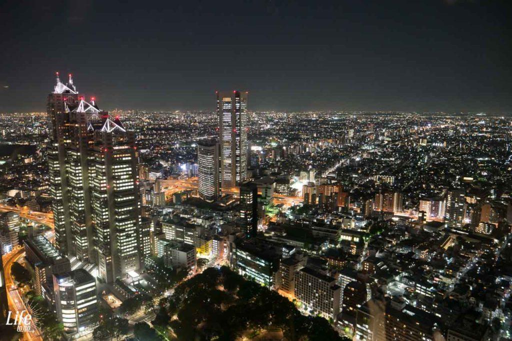 Aussicht Tokyo Metropolitan Government Building