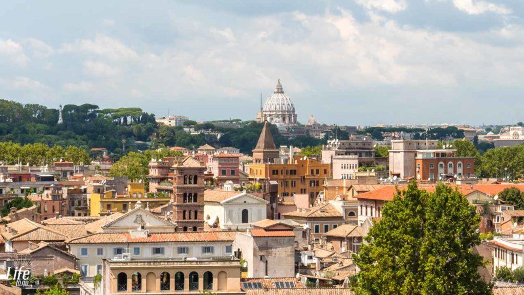 Aventin Aussicht Rom