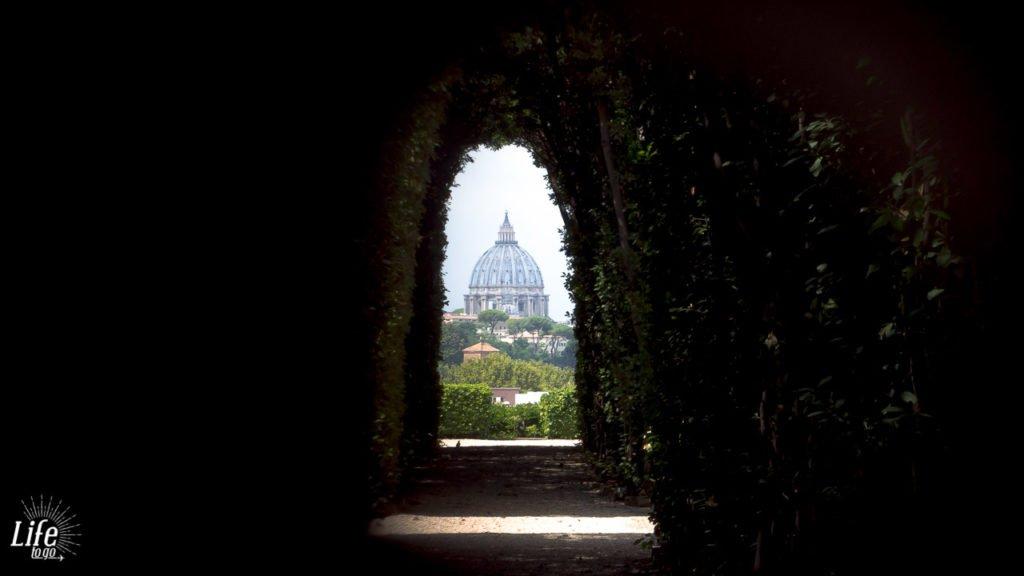 Aventin Schlüsselloch Rom