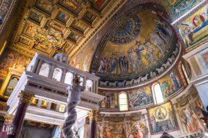 Basilika Santa Maria Travestere Rom