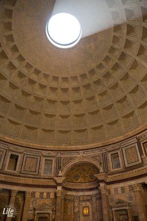 Lichteinfall Pantheon Rom