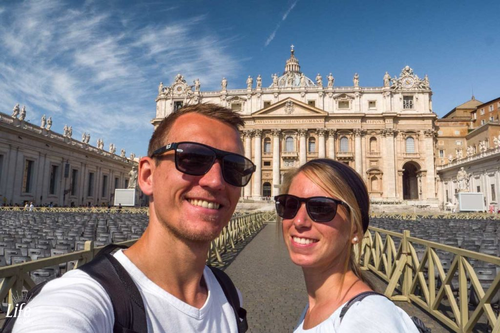 Vatikan Petersplatz Rom